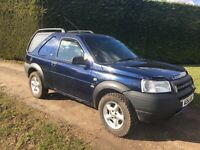 Freelander TD4 Commercial Automatic Special Vehicle