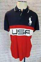 NEW w/tags RALPH LAUREN Men's Polo US Open Short Sleeve Shirt Big Pony, Medium