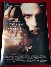 Interview mit einem Vampir Kinoplakat Poster A1, Brad Pitt, Tom Cruise
