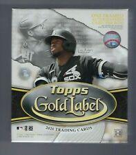 2020 Topps Gold Label Baseball Hobby Box Factory Sealed