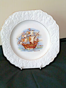 Vintage Elijah Cotton Nelson Ware Westward Ho Plate c1950s Made in England