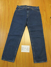 Vint levi's 506 regular fit REPAIRED Irregular tag 38x32 made in the USA 11053R
