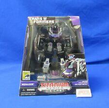 Menasor SDCC 2007 Transformers G1 Titanium Series Diecast Hasbro Galoob Sealed
