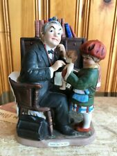 Doctor and the Doll Saturday Evening Post Figurine