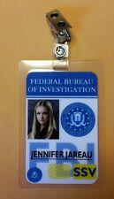 Criminal Minds ID Badge - Jennifer Jareau costume prop cosplay