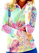 NWT Lilly Pulitzer Reagan Zip Up Multi Roar of the Seas 50+ SPF SMALL 25% OFF!