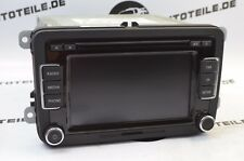 VW SCIROCCO III 137 Car Radio Cd Changer SD Card 3c8035195 - Without Code