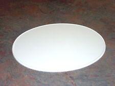 """Vintage Oval MX Number Plate AHRMA AMA 9"""" X 11"""" Universal Plastic Side Plates"""