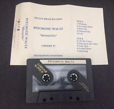 PSYCHOTIC WALTZ (USA) 'Mosquito' ORIGINAL PROMO TAPE/ADVANCE CD/LP