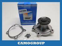 Water Pump Graf For OPEL Corsa Kadett 87 93 PA415 1334034 1334107
