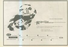 """(ANEW11) ADVERT 7X11"""" BELLY : GEPETTO E.P. & TOUR DATES"""