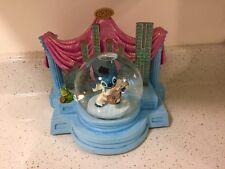 DMG DISNEY Lilo And Stitch As ELVIS ~Musical SnowGlobe Limited Edition -WORKS!