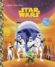 Star Wars™ LITTLE GOLDEN BOOK Attack of the Clones YOUNG READERS Book