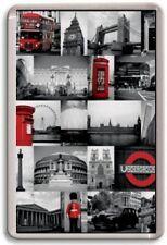 FRIDGE MAGNET - LONDON MONTAGE - Large Jumbo - London UK England