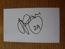 50's-2000's Autographed White Card: Skoko, Josip - Wigan Athletic