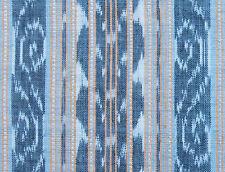 Ikat Fabric. Gray, Homespun Cotton. Hand-Dyed & Hand-Woven. Orissa India