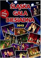 Slaska Gala Biesiadna 2013 (DVD 2 disc) POLISH POLSKI