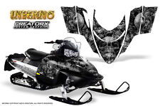 POLARIS SHIFT RMK DRAGON SNOWMOBILE SLED GRAPHICS KIT CREATORX WRAP INFERNO S