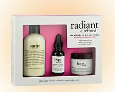 Philosophy Radiant And Refined Skincare Kit 3 Pieces Normal To Combination NIB