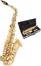 More details for odyssey oas130 debut alto saxophone outfit complete in plush lined abs case