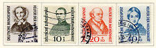 West Germany - 1955 Welfare Semi-Postal set of 4. Scott #B344-B347 USED