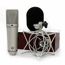 Neumann U87 Microphone AI Set Z Response Studio Cardioid Condenser 127db Max