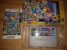 Rockman X2 - Super Famicom Nintendo SFC SNES JP Japan Mega Rock Man Megaman 2 II