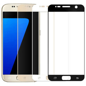 Full Covered Tempered Glass Screen Protector For Samsung Galaxy S7 Note 4 Note 5