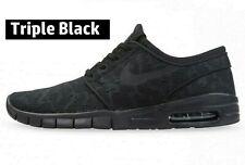 NEW Nike SB Janoski Max Size 10 Triple Black 631303-099 New w/ Box Dunk