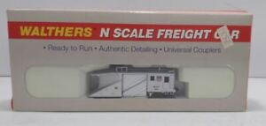 Walthers 932-8502 N Scale Union Pacific Russell Snow Plow #186 EX/Box