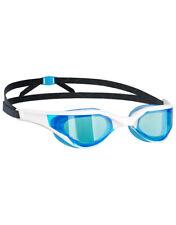 Mad Wave Razor Racing-Like Hydrodynamic Shape Extra-Soft Swimming Goggles White
