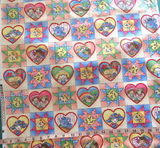 """100% Cotton Fabric """"Patchwork Kids"""" by Classic Cottons, 3.5"""" Squares"""