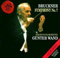 GÜNTER WAND/NDR-SINFONIEORCHESTER - A. BRUCKNER-SYMPHONY NO. 7; CD 4 TRACKS NEU