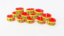 Racing Pigeon Rings with Phone Number ! 50 pcs ! HIT !
