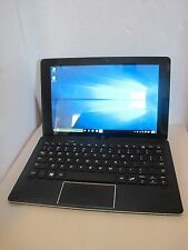 """NuVision Duo 10 (TM101W625) 10.1"""" 2-in-1 Windows 10 32GB Tablet - Working Great!"""