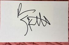 Ben Stiller Signed 3X5 Index Card  There's Something About Mary Meet the Parents