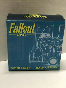 ~* Fallout Loot Crate - Build-a-figure - Power armor Box 1of 6 ~ Base & Helmet