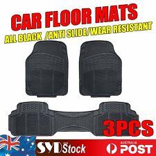 Vehicle Floor Mat Rubber Carpets 3pcs For Hyundai i30 ix35 Elantra Long Lasting