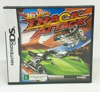 Hot Wheels Track Attack - Nintendo DS - Brand New | Portuguese Cover