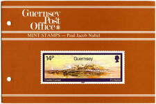 GUERNSEY PRESENTATION PACK MNH 1985 PAUL JACOB NAFTEL PAINTINGS ARTIST