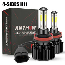 2020 H11 Led Headlight 6000K 2000W 300000Lm 4-Side Low Beam bulbs High Power Joy (Fits: Scion xB)