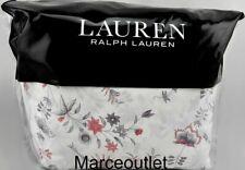 Ralph Lauren Maddie Blossom Queen Sheet Set Cream Multi