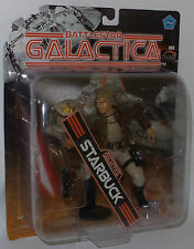 BATTLESTAR GALACTICA : STARBUCK CARDED ACTION FIGURE MADE BY JOYRIDE IN 2005
