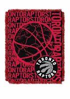 NBA Toronto Raptors Triple Woven Jacquard Throw by Northwest NWT