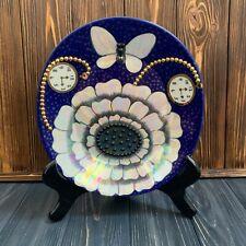 Arabia finland Birger Kaipiainen plate with a butterfly vintage scandinavia