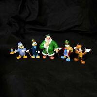 Mickey's Christmas Carol Figures Lot of 5 Scrooge McDuckOrnaments