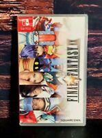 Final Fantasy IX- Nintendo Switch - Region Free - Brand New - Sealed