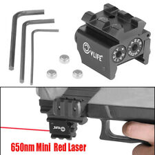 CVLIFE Tactical Mini Red Dot Gun Sight Laser with 20mm Rail Mount Hunting