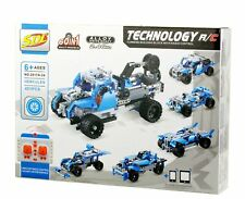 Bo-Toys Building Bricks Stem 60 in 1 Rc Toy, 401 Pcs Buggy, Race car 60 in 1