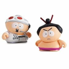 Kidrobot South Park Many Faces Of Cartman Fingerbang Sumo Figure Set NEW Toys